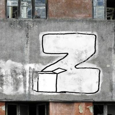 Letter Z / 36 days of type (2020) / Graffiti in motion